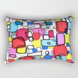 Playful Meditation 1 Rectangular Pillow