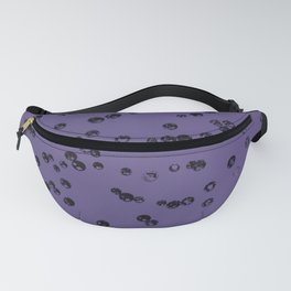 Ultra Violet Crystal Stones #3 #shiny #decor #art #society6 Fanny Pack