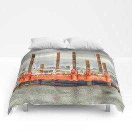 Wavewalker In Falmouth, Cornwall Comforters