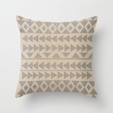 Earthtone2 Throw Pillow
