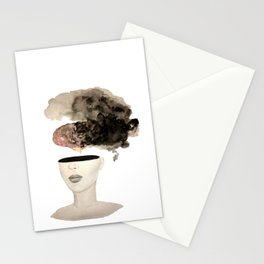 Is your brain leaking? Stationery Cards
