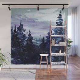 Cold Forest Wall Mural