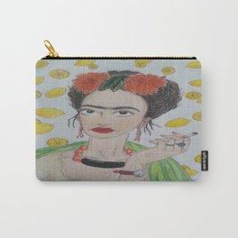 Frida Khalo Likes Lemonade  Carry-All Pouch