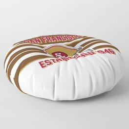 49ers club san francisco Floor Pillow