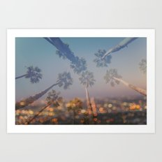 Postcard from L.A. Art Print