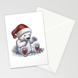 Polar Bear Loves Christmas Stationery Cards