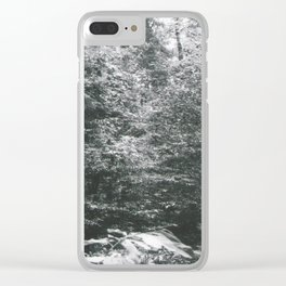 Edge of the Forest Clear iPhone Case