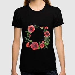 Wild Poppies T-shirt