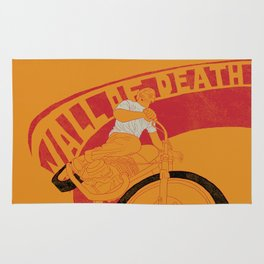 wall of death Rug