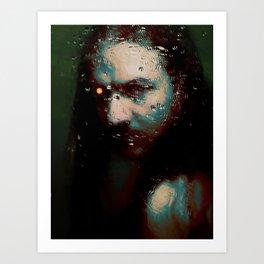 The machine - by Brian Vegas Art Print