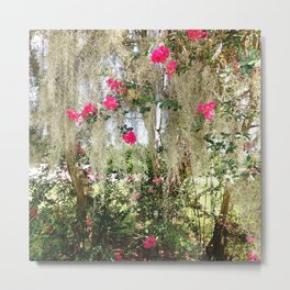 Somewhere In New Orleans Metal Print