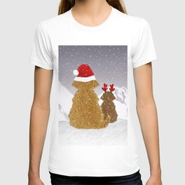 Cute Dogs Holiday Design T-shirt