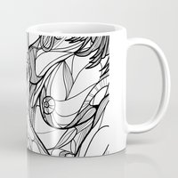 passion Mugs featuring Passion by Jasmine Smith