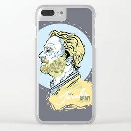 Ser Jorah's Army Clear iPhone Case
