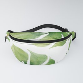 Monstera watercolor I Fanny Pack