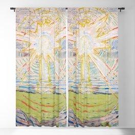 """Edvard Munch """"The Sun"""", 1910–11 Blackout Curtain"""