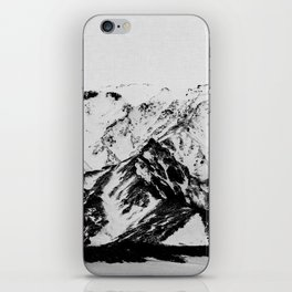 Minimalist Mountains iPhone Skin