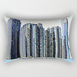 Melbourne CBD Rectangular Pillow