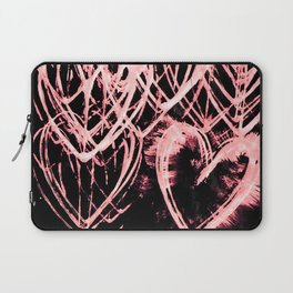 Repetitive Heart (edit 1) Laptop Sleeve