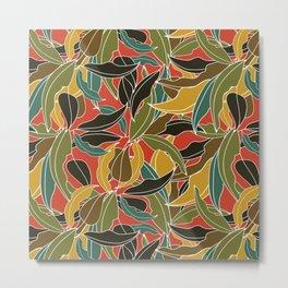 Vivid Flora Metal Print