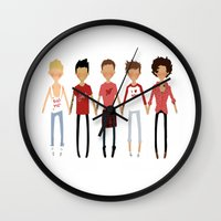 valentines Wall Clocks featuring Valentines by cargline
