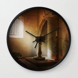 The Font Wall Clock