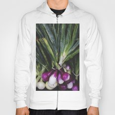 Red Onions in the Garden Hoody
