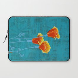 California Poppies Laptop Sleeve