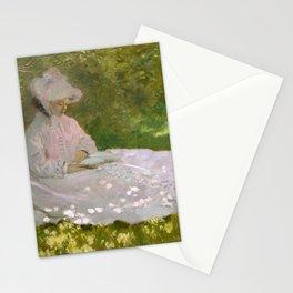 Claude Monet - Springtime Stationery Cards