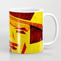 clint barton Mugs featuring Clint by Triplea