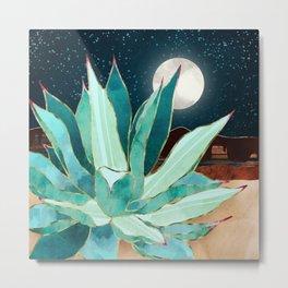 Desert Agave Metal Print