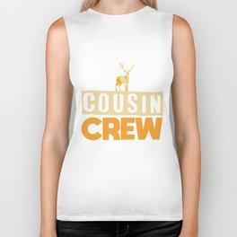 Cousin Crew Shirts Christmas Cousin Gift Biker Tank