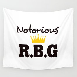 Notorious R.B.G Wall Tapestry