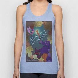 Artie and the Hummingbird Book Cover Unisex Tank Top