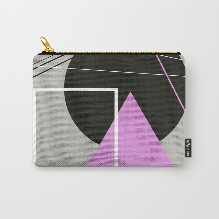 Geometric Landscape Carry-All Pouch