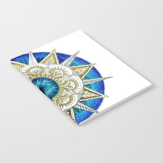 Eye Mandala Notebook
