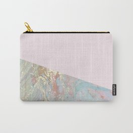 Blush pastel marble glamour Carry-All Pouch