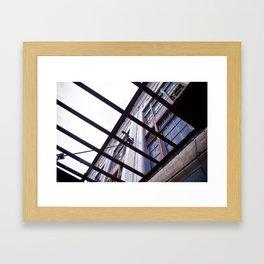 Rahabbing Building Framed Art Print