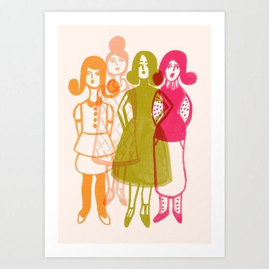 Dress Colorfully Art Print