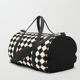 Geometric ornament gold seamless pattern Duffle Bag