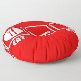 ESP: Red Devils Floor Pillow