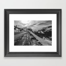 Mountain Road Framed Art Print