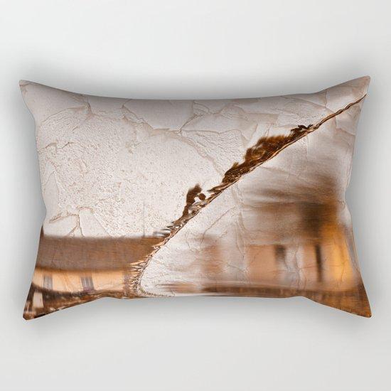 Stream of Peeling Dreams Rectangular Pillow