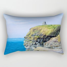 O'Brien's Tower on The Cliffs of Moher Rectangular Pillow