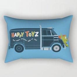 The Happy Toyz Van Rectangular Pillow