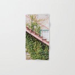 Stone House with Ivy Wall Hand & Bath Towel