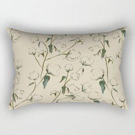 Cotton Bolls Rectangular Pillow
