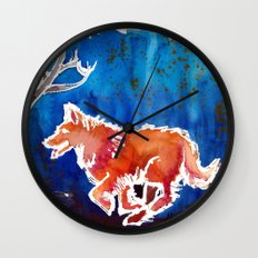 Doggy Love Wall Clock