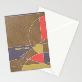 Barcelona Mosaic Stationery Cards