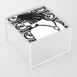 Harness Girl Acrylic Box